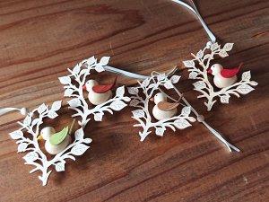 TIETZE Little bird ornament インテリアのアクセントにおすすめ ことりオーナメント