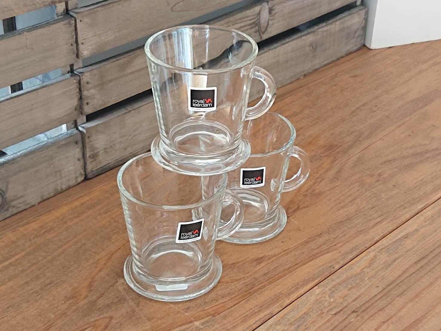 royal leerdam Glass Mini Mug cup デザート用にもおすすめガラスミニマグカップ