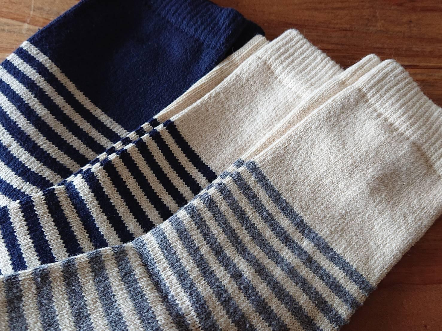 HFOOTWEAR Cotton Stripe socks コットンボーダーソックス