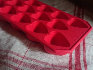 Lekue ice cube Heart Design ハート型の氷が作れるルクエアイスメーカー