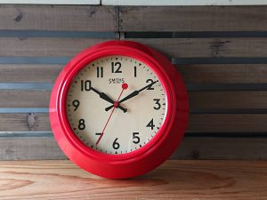SMITHS'S CLOCK スミスの掛時計復刻モデル