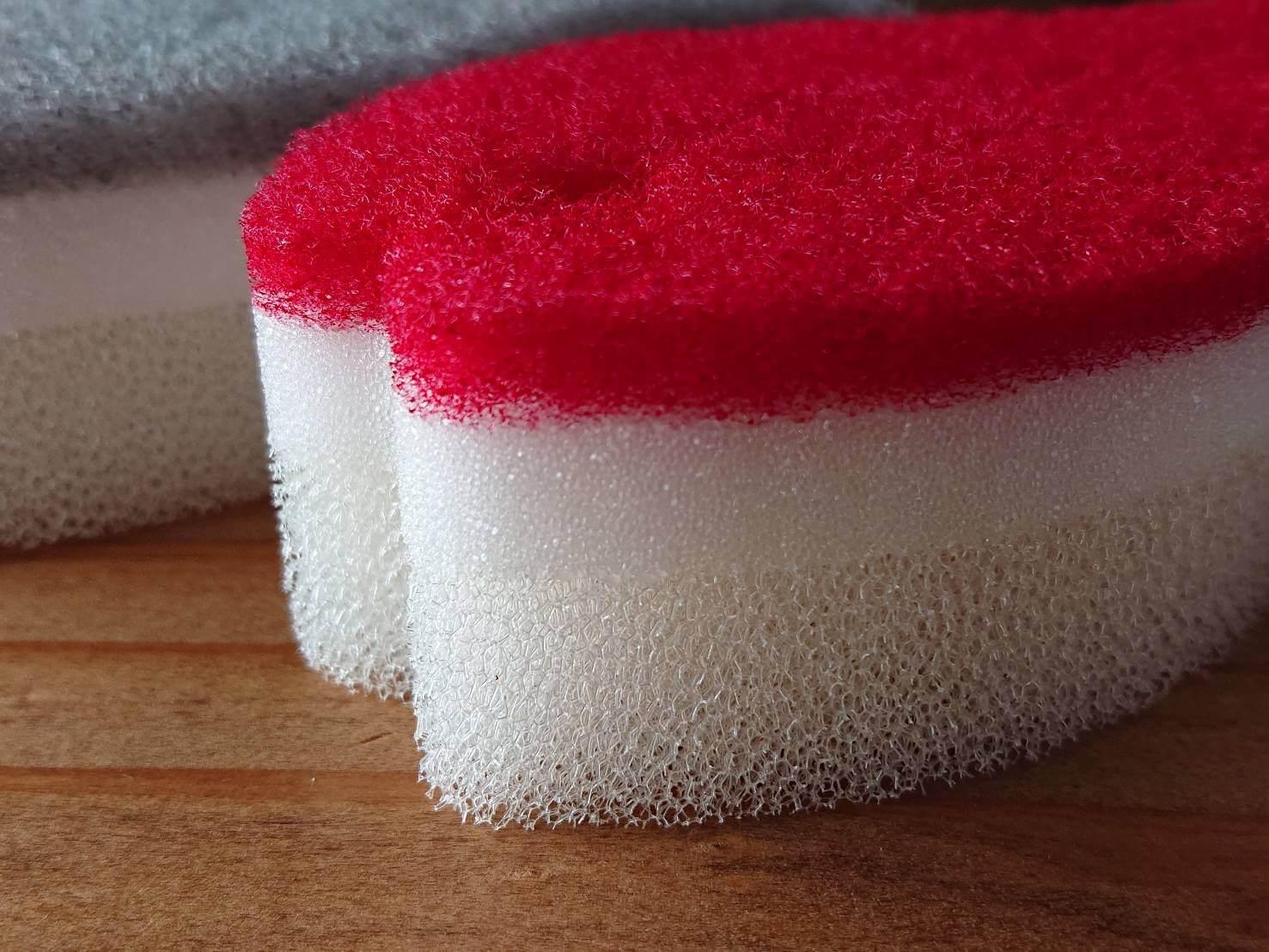 Dishwashing sponge Fish type おさかなスポンジ