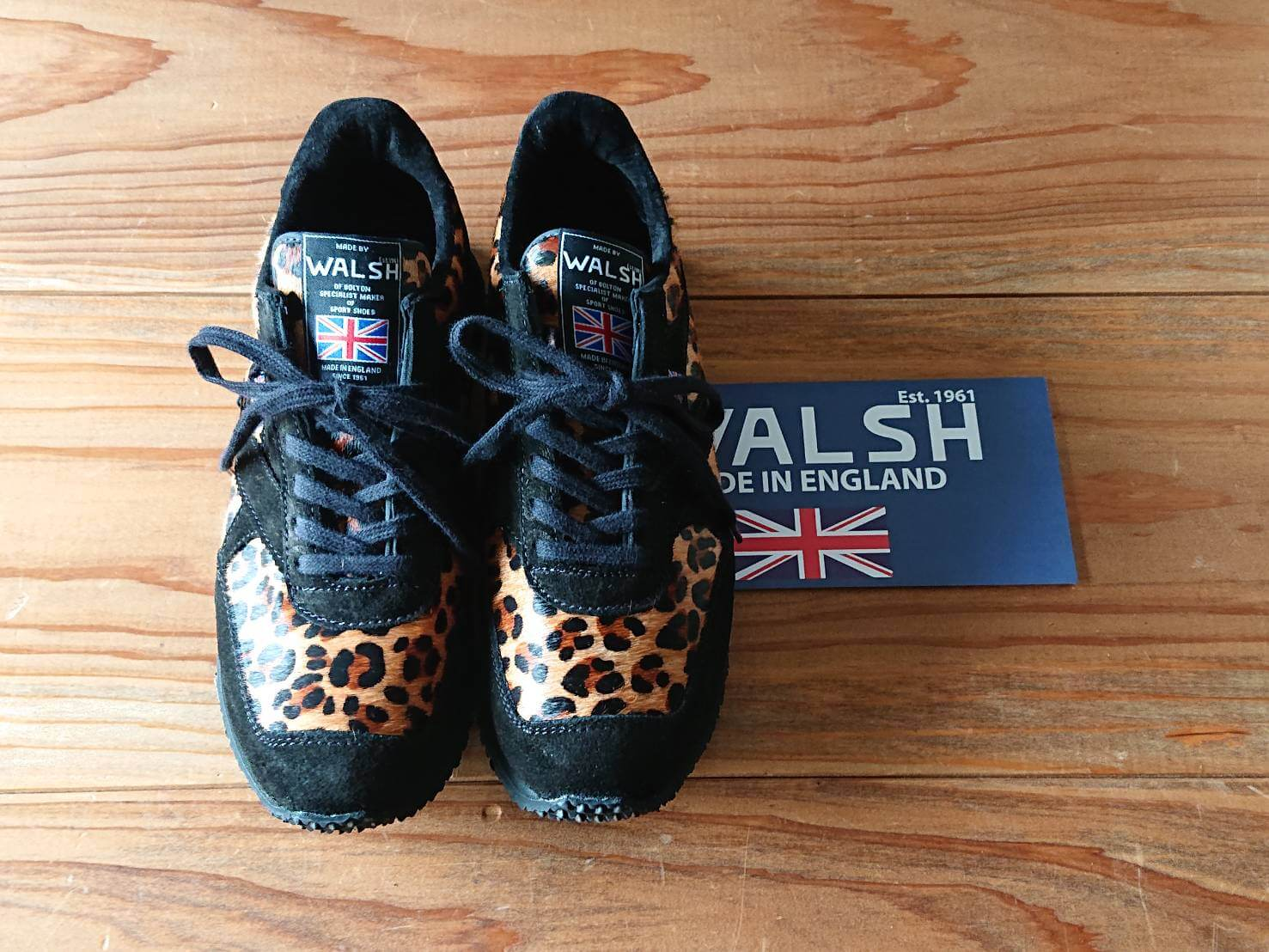 WALSH 英国製スニーカー 2021AW NEW DESIGN