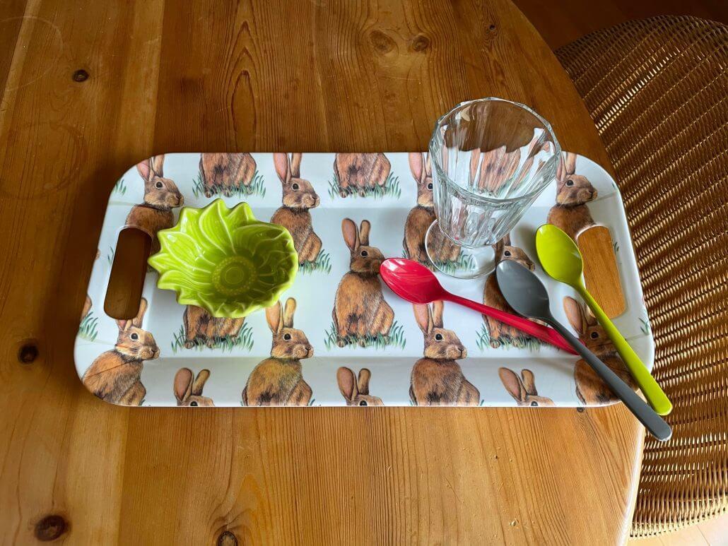 Ihe Breakfast Tray Rabbits