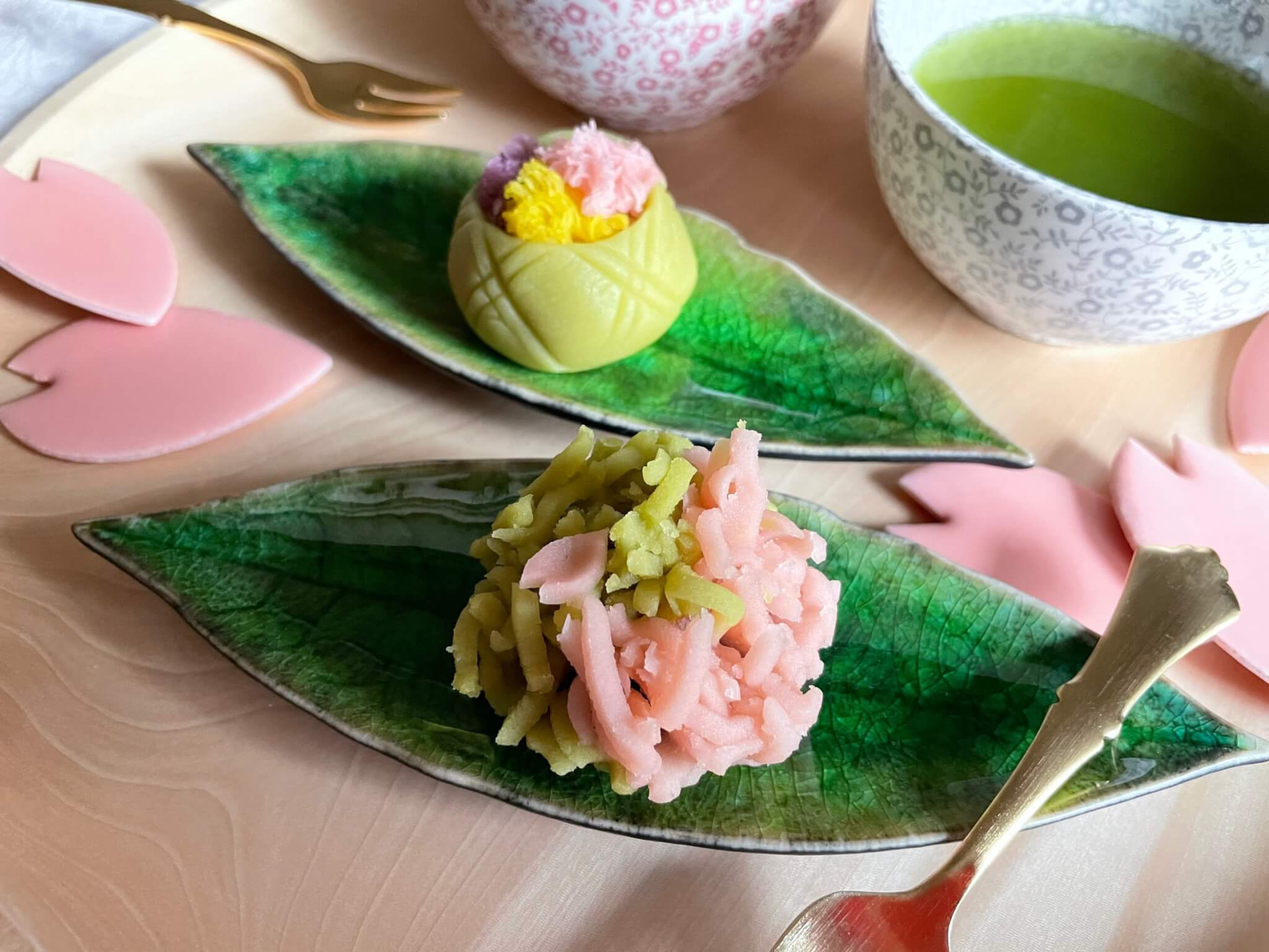COSTA NOVA RIVIERA Laurel leaf Small plate 和菓子にも合うローレルリーフの小皿