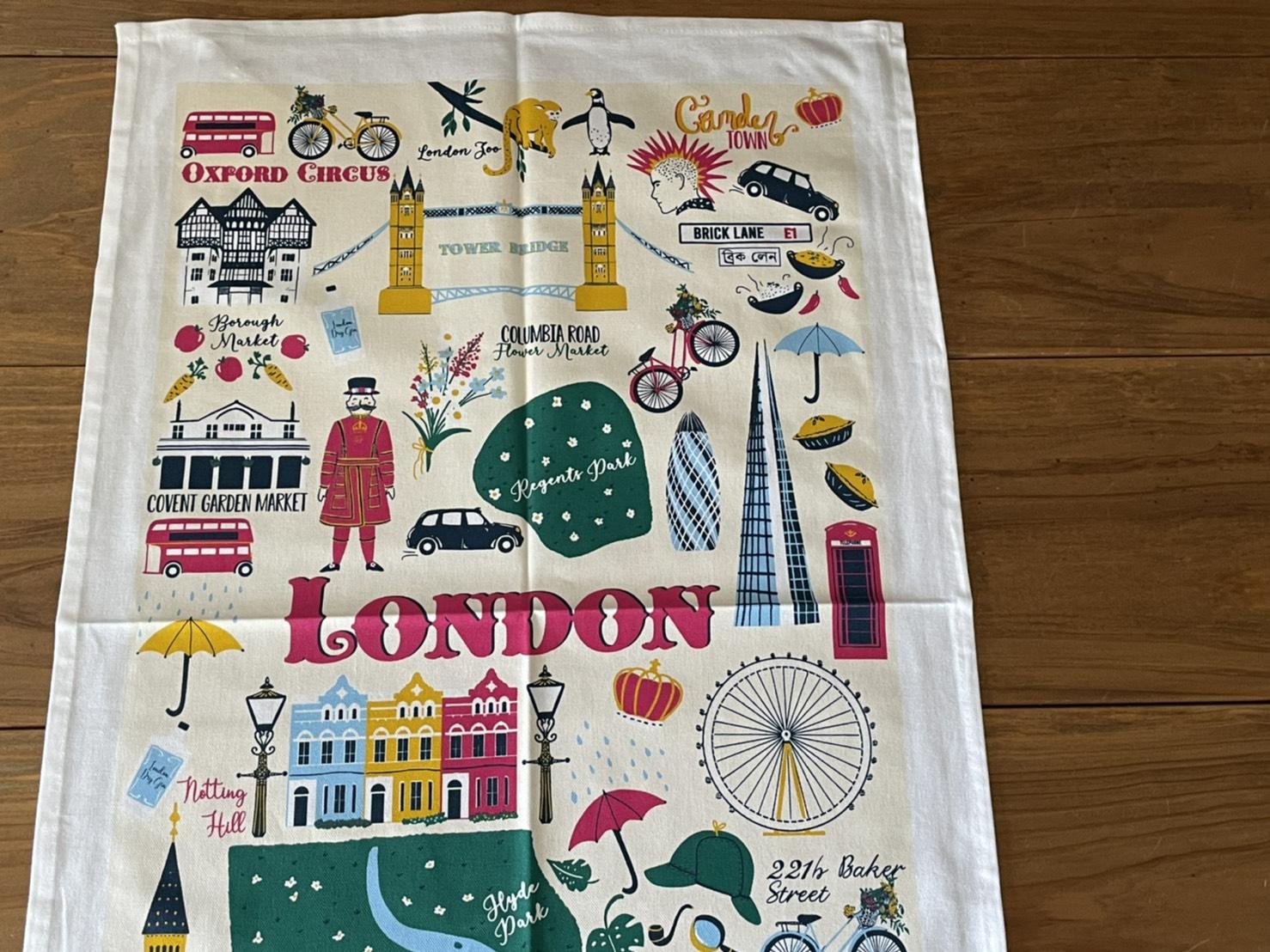 Ulster Weavers Tea Towel From England イギリスのティータオル