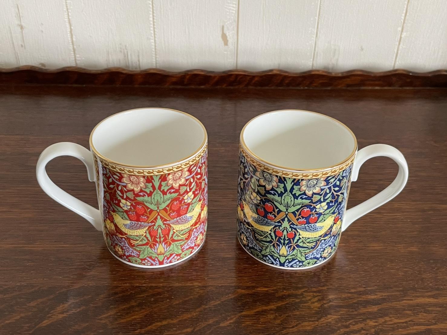 WILLIAM MORRIS MUG & TANKARD MUG 英国製のマグカップ