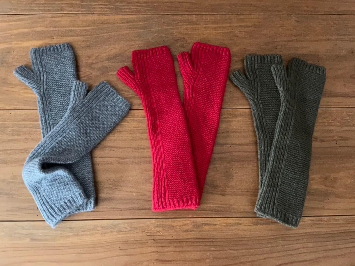 JOHNSTONS CASHMERE KNIT GLOVES & Fingerless gloves