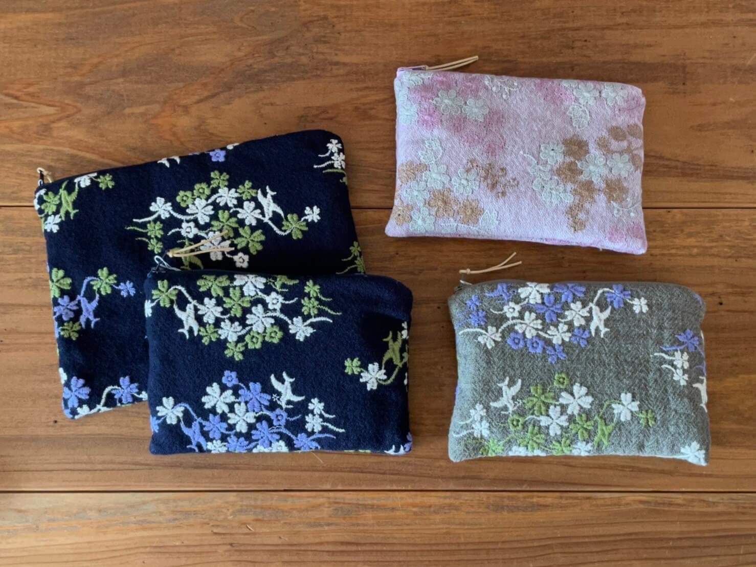 COTTON HOUSE AYA embroidery BAG &porch